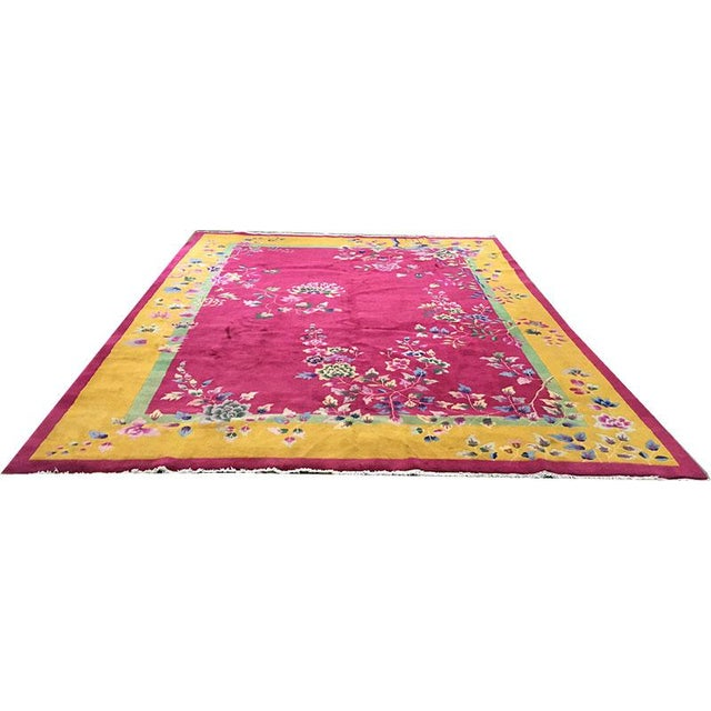If you are in the market, for top quality Art Deco Chinese, here I have an absolute beauty for you. This rug is from...
