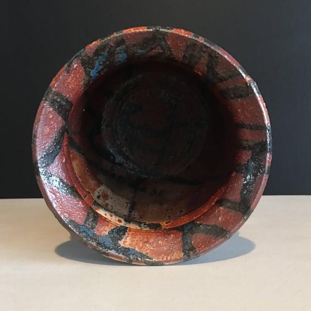 Stunning Signed Studio Glazed Pottery Vase - Image 6 of 7