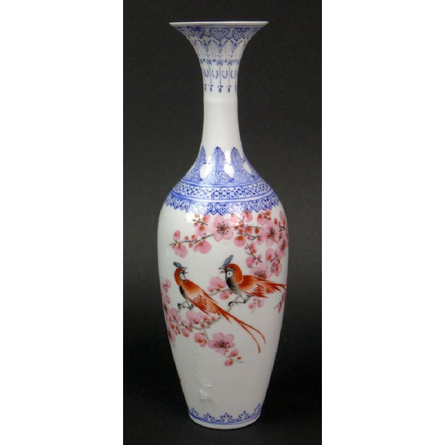 "Antique Chinese ""Eggshell"" Porcelain Vase - Image 3 of 7"