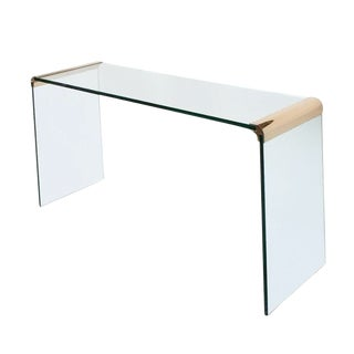 Waterfall Console Table by Leon Rosen for Pace Collection