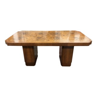 Deco Burl Dining Table Cloud Collection For Sale