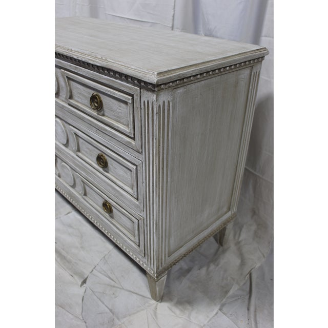 Early 20th Century Antique Swedish Chest of Drawers For Sale - Image 4 of 6