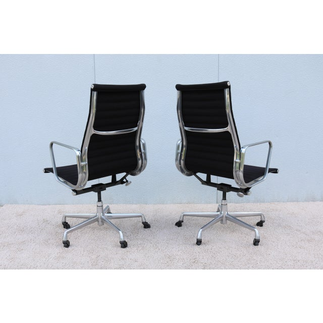 1958 Herman Miller Eames Aluminum Group High-Back Executive Chair