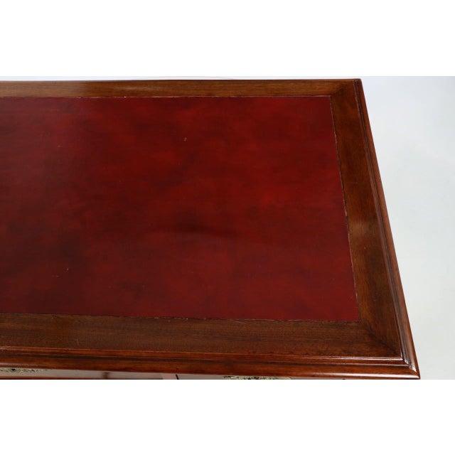 English Mahogany Writing Desk - Image 7 of 11