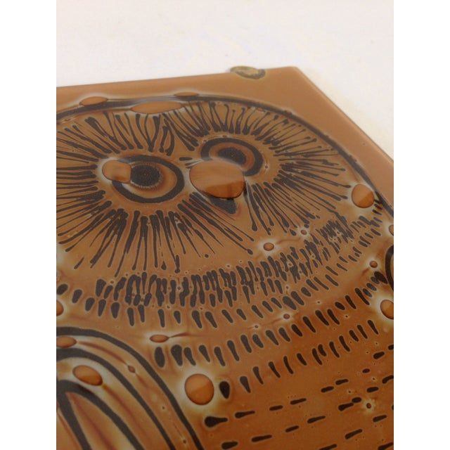 Vintage Higgins Owl Plaque - Image 3 of 6