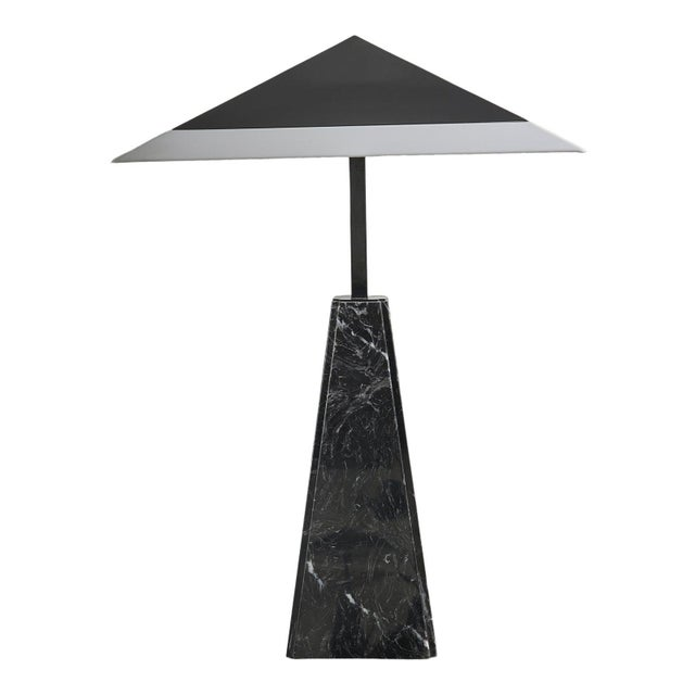 Black Arteluce Table Lamp by Cini Boeri, Italy For Sale - Image 8 of 8