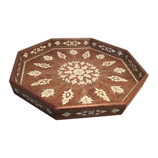 Mother Of Pearl Inlaid Tray - Image 1 of 3