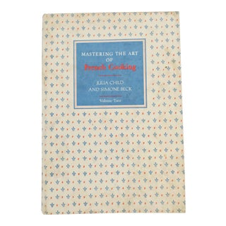 1961 Vintage Mastering the Art of French Cooking Vol 2, First Edition Book For Sale