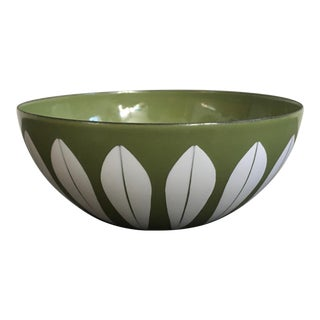 Mid Century Cathrineholm Enamel Bowl For Sale