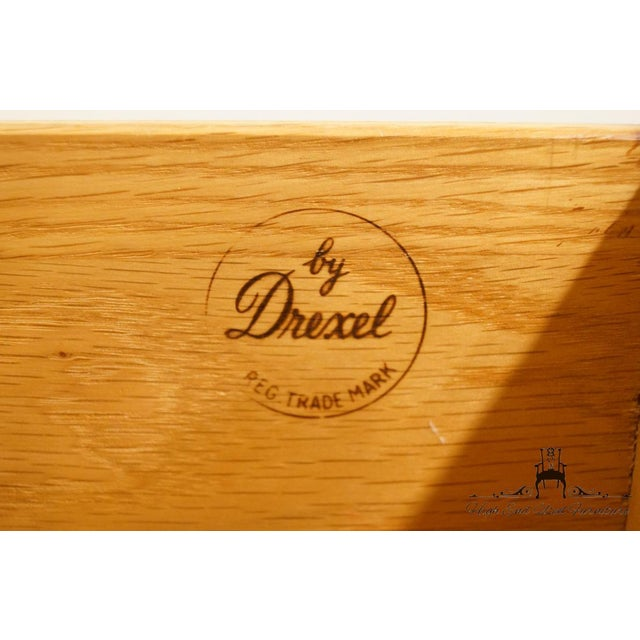 "20th Century Traditional Drexel Bordeaux Collection 54"" Double Dresser For Sale - Image 12 of 13"