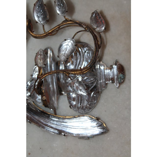 1920s Maison Bagues Signed French Art Deco Opposing Face Parrot Sconces - a Pair For Sale - Image 11 of 13