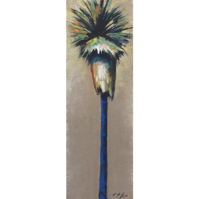 """""""Dancing Light in April Palm"""" Original Artwork by Kathleen Keifer For Sale"""