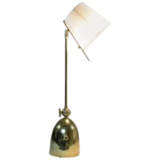 Evolution-IV Contemporary Brass Table Lamp, Flow Collection For Sale