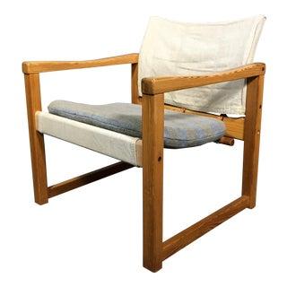 "1970s Scandinavian Modern Karin Mobring ""Diana"" Armchair For Sale"