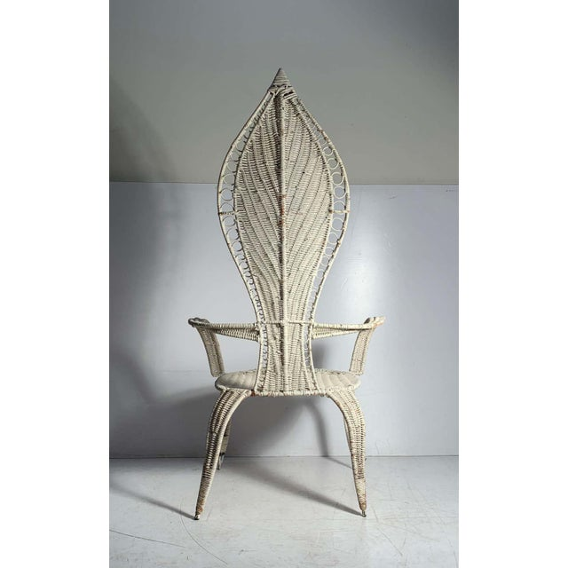 Tropi-Cal Danny Ho Fong and Miller Fong Mid-Century Modern Garden Patio Chair For Sale In Chicago - Image 6 of 9