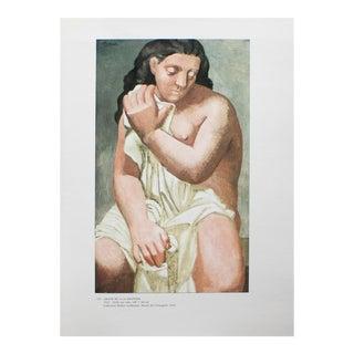 """1985 Pablo Picasso, """"Grand Nu à La Draperie"""" Parisian Photogravure For Sale"""