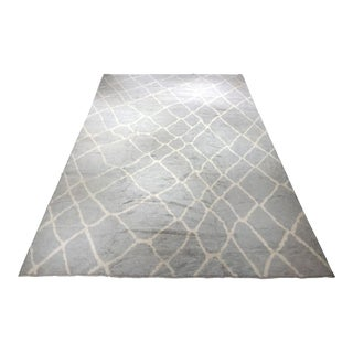 """Bellwether Rugs Large Moroccan """"Tiago"""" 10′7″ × 16′3″"""