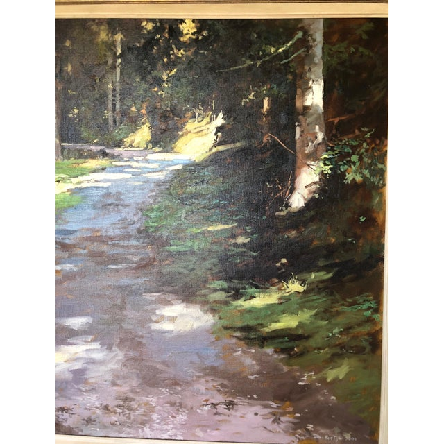 21st Century Landscape by Famous British Painter James Hart Dyke For Sale - Image 9 of 13