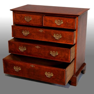 English Chippendale Style Flame Mahogany Chest of Drawers Preview