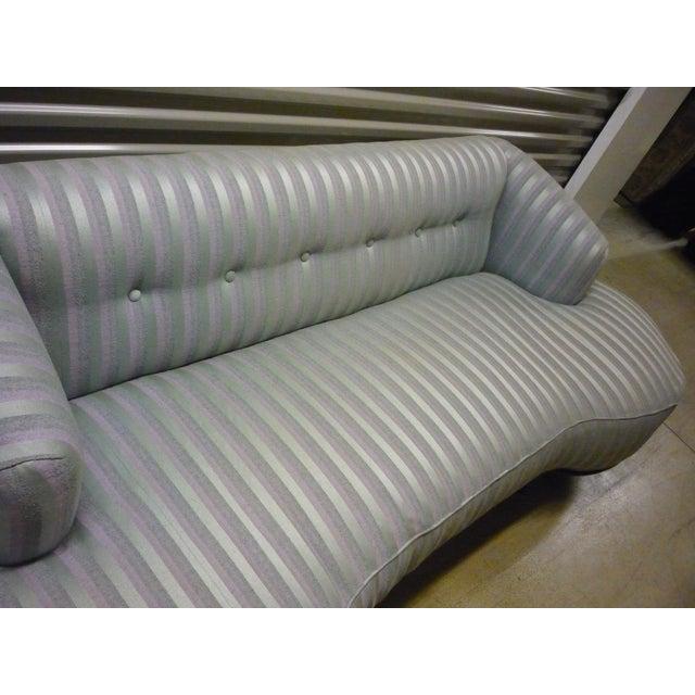 Schiaparelli-Style Stripe Sofa - Image 6 of 7