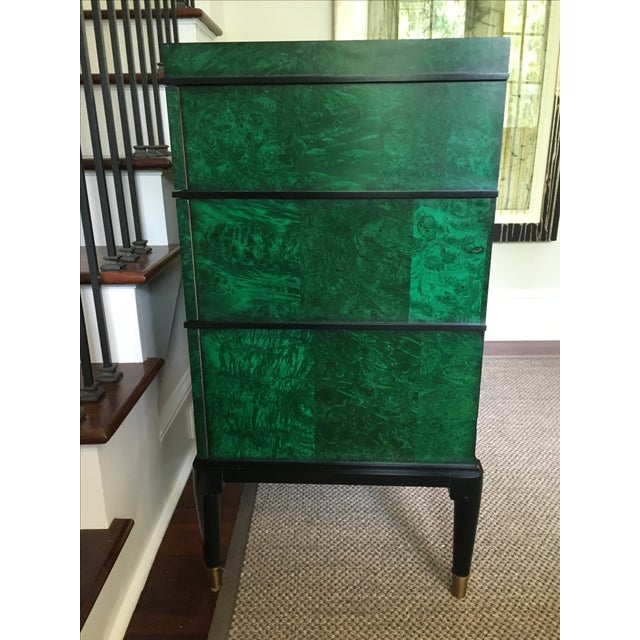 Century Furniture Malachite Consul Chest - Image 6 of 8