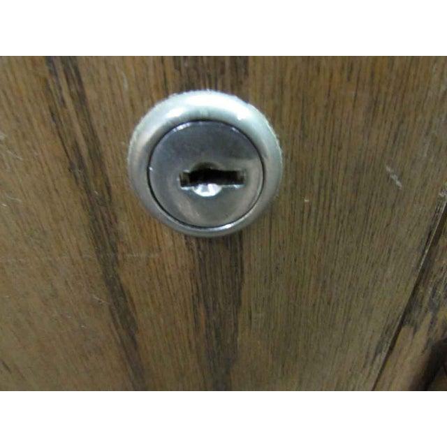 Antique Wooden Locker Unit For Sale - Image 9 of 10