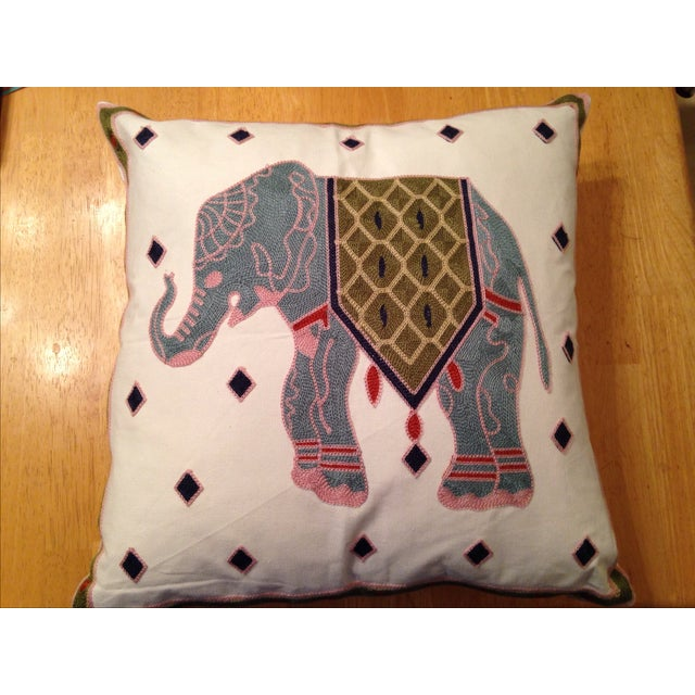 Elephant Throw Pillow - Image 2 of 3