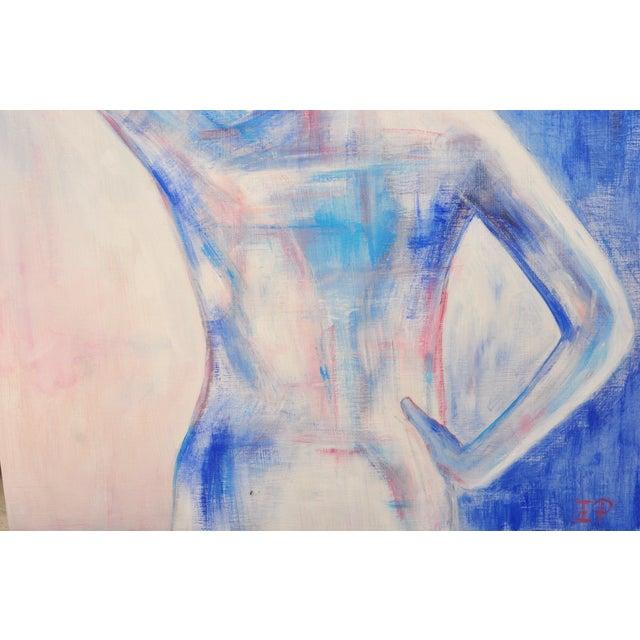 Nude Female Figure Painting - Image 4 of 4