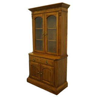 Temple Stuart Oak Hill Collection Country French China Cabinet Preview