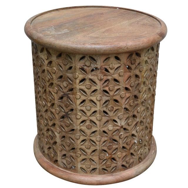 Round Side Table - Image 1 of 4