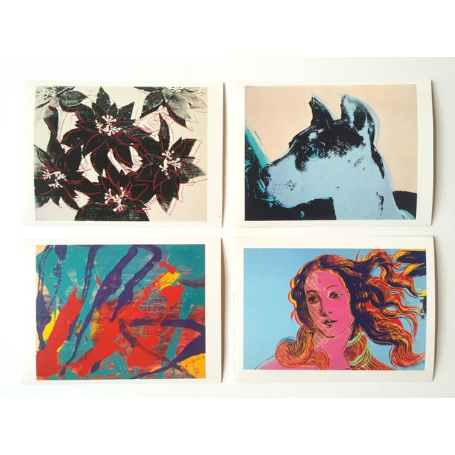"Andy Warhol Vintage 1989 Pop Art ""AW Estate Foundation"" Postcard Prints - Set of 12 - Image 2 of 9"
