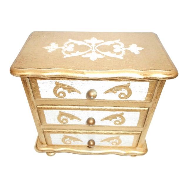 French Music Box Jewelry Box - Image 1 of 5