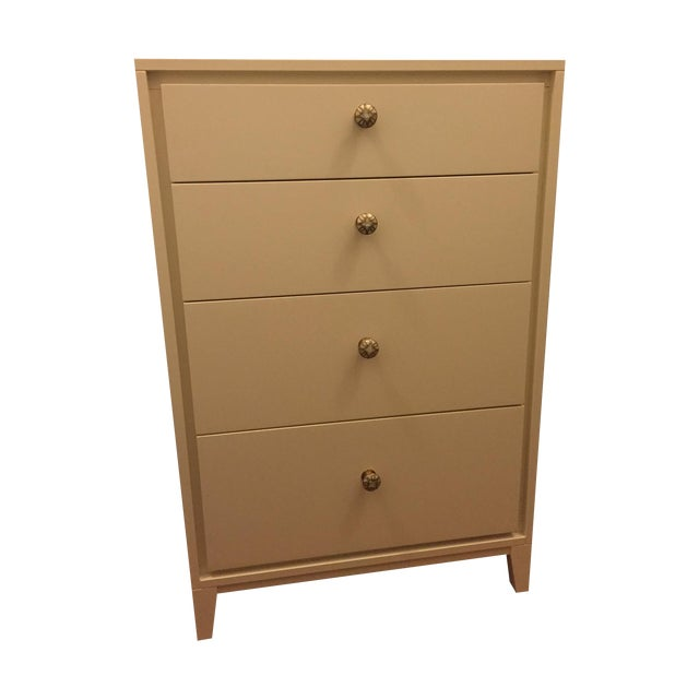 West Elm Niche 4-Drawer Dresser in White - Image 1 of 5