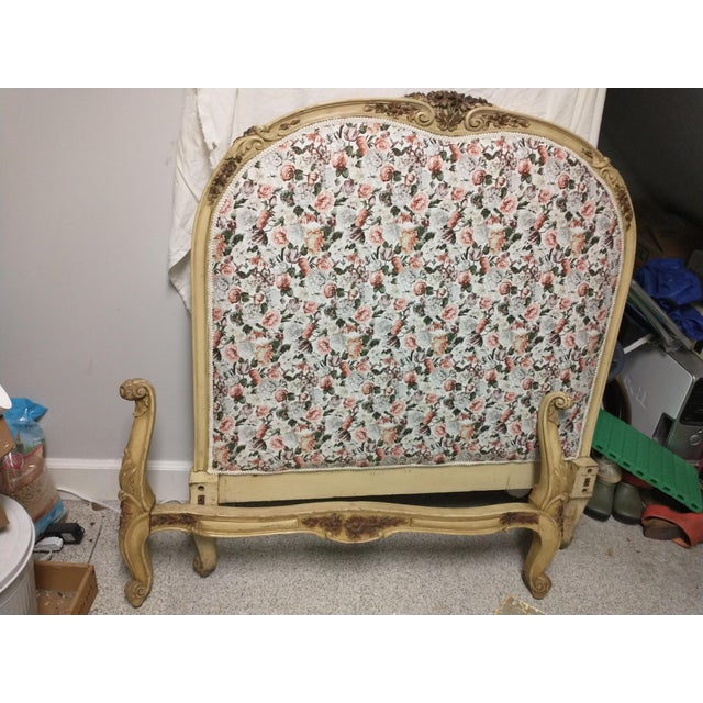 19th Century Antique Twin Headboard and Footboard For Sale - Image 13 of 13