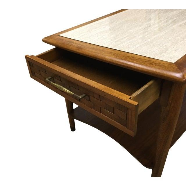 Mid-Century Modern Walnut Side Table - Image 4 of 6