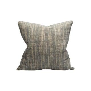 Scalamandre Gallium Pillow, Silver Screen For Sale