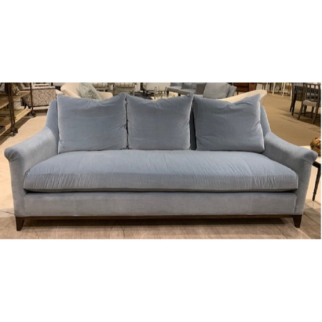 Modern Hickory Furniture Jules Sofa For Sale In San Francisco - Image 6 of 6