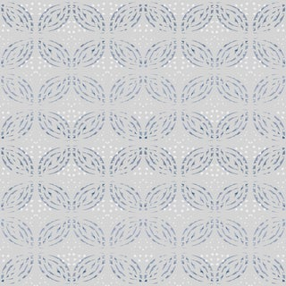 Cashmere 'Isle De Fleur' Raw Silk Wallpaper Roll For Sale