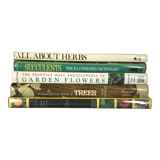 "1970s American ""The Botanist's Reference Library"" - Set of 5 Books For Sale"