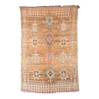 """Boujad Vintage Moroccan Rug, 6'2"""" x 9'0"""" feet"""