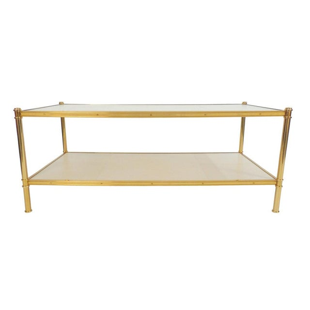 Not Yet Made - Made To Order Rose Gold Cole Porter Coffee Table For Sale - Image 5 of 6