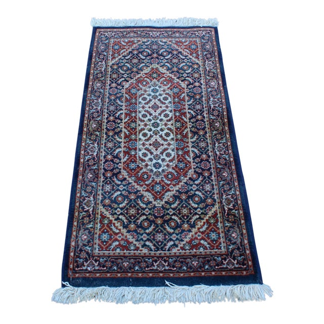 Early 20th Century Vintage Long Hallway Rug- 4′9″ × 2′1″ For Sale