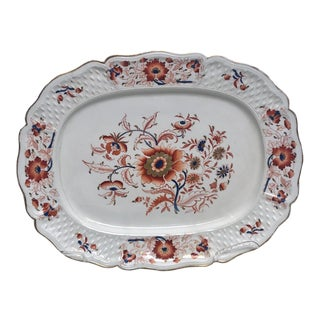 "Coalport ""Imari"" Platter, England Circa 1810 For Sale"