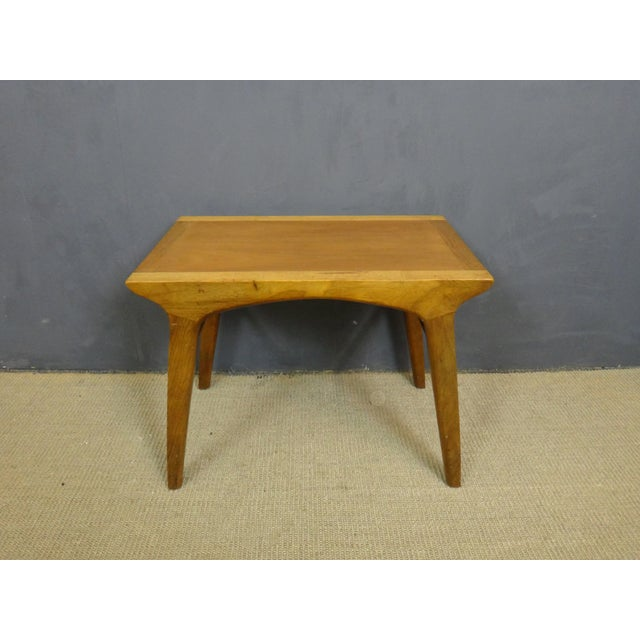 Drexel Profile Walnut Side Tables - A Pair - Image 5 of 6