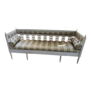 Vintage Swedish Gustavian Sofa For Sale