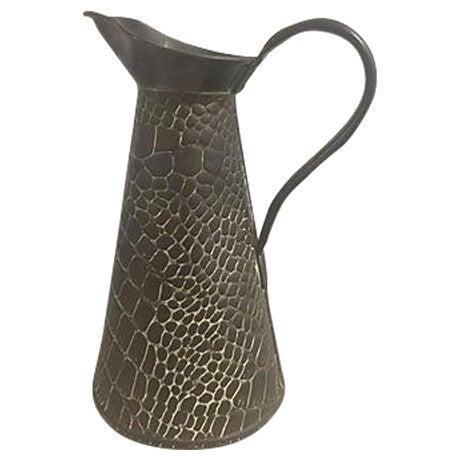 Aged Copper Snakeskin Jug - Image 1 of 5