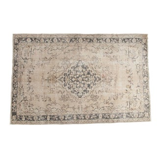 "Vintage Distressed Sivas Carpet - 5'11"" x 9'"