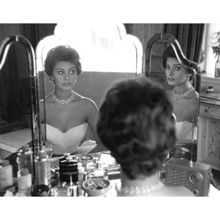 Sanford Roth 1957 Photo of Sophia Loren at Home