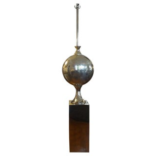 French Mid-Century Maison Barbier Attributed Floor Lamp For Sale