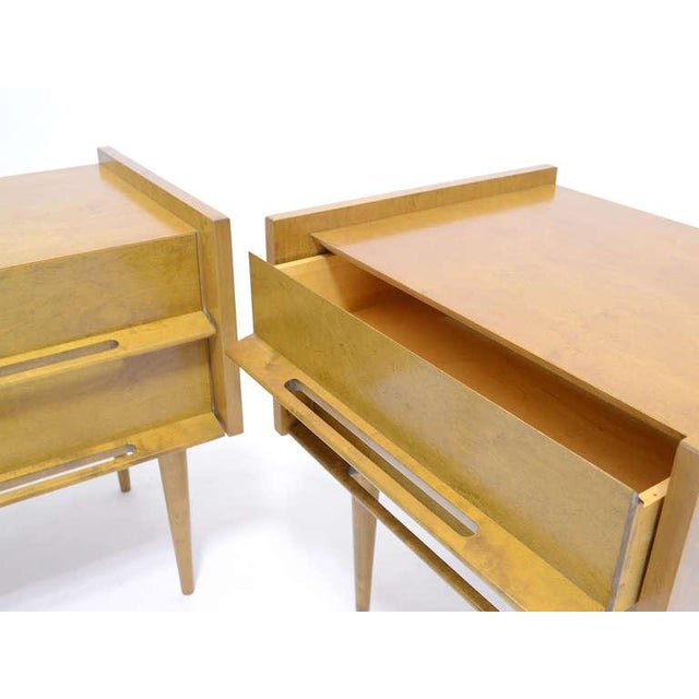 Pair Of Nightstands/ End Tables By Edmond Spence For Sale In Chicago - Image 6 of 8
